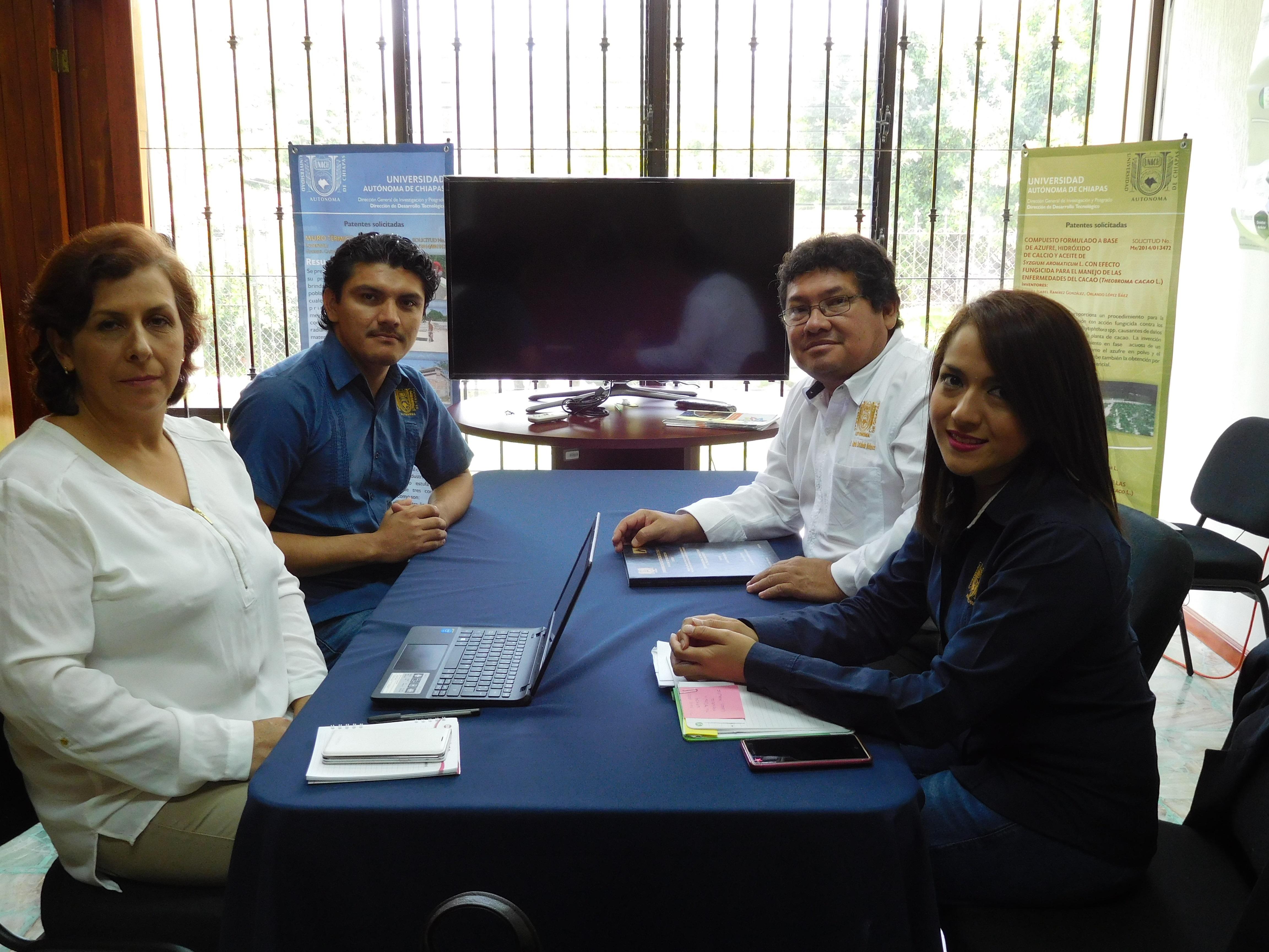 Reunión de Trabajo UPTC- CGI UNACH