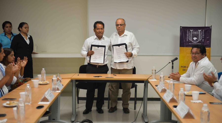 Suma UNACH y la iniciativa privada esfuerzos para impulsar proyectos de innovación