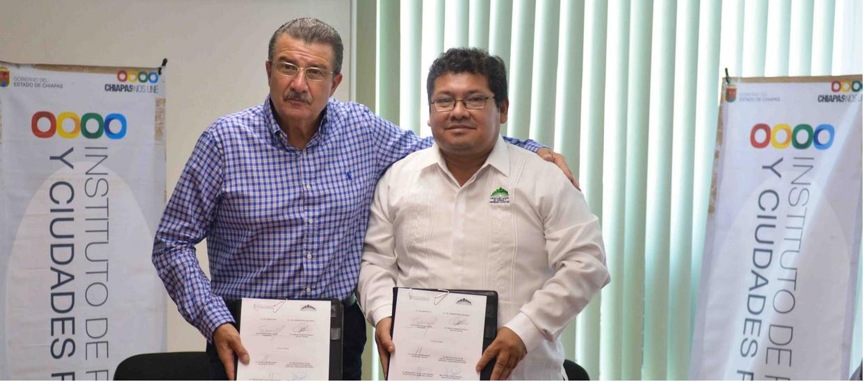 Unen el Instituto de Población y Ciudades Rurales y UNACH esfuerzos en favor de los