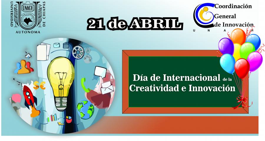 Día de Internacional de la Creatividad e Innovación